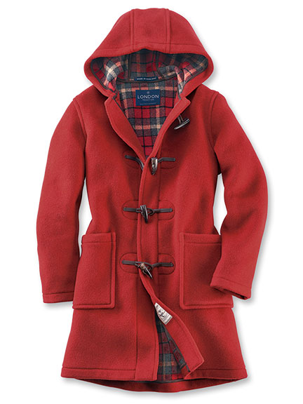 Englischer Dufflecoat von London Tradition in Burnt Orange