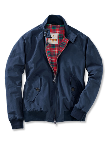 Baracuta-Blouson 'G9 Harrington' in Navy