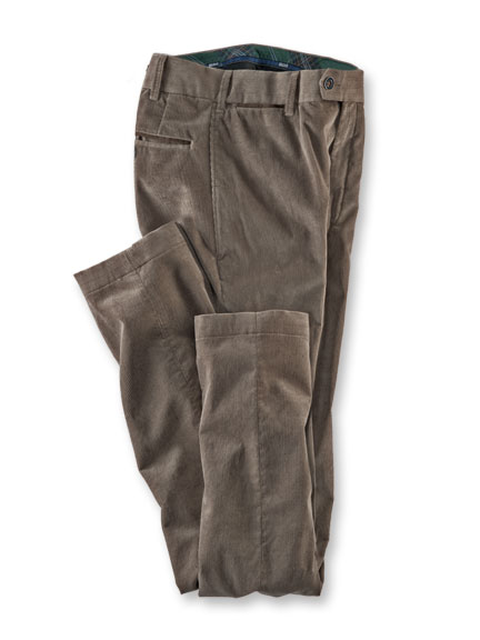 Heritage-Hose aus 'Supima Cord' in Sand