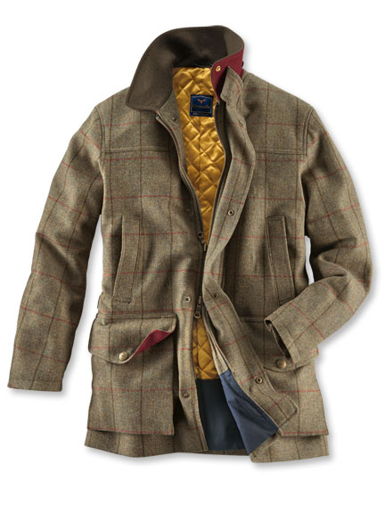 'Town & Country'-Tweedjacke von Chrysalis