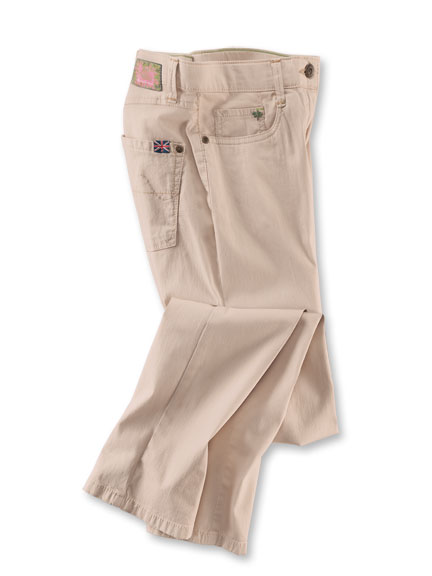 Sportive 5-Pocket-Hose in Sand