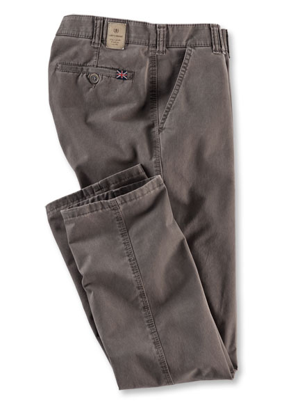 Club-of-Comfort-Hose aus Pima-Baumwolle in Taupe