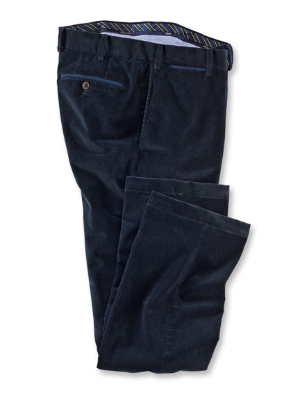 Heritage-Hose aus 'Supima Cord' in Navy