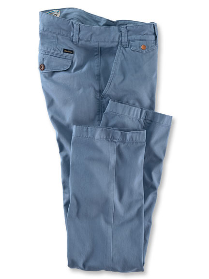 Barbour-Chino 'Neuston' in Rauchblau