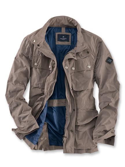 Modernes 'Fieldjacket' in Taupe von Hackett