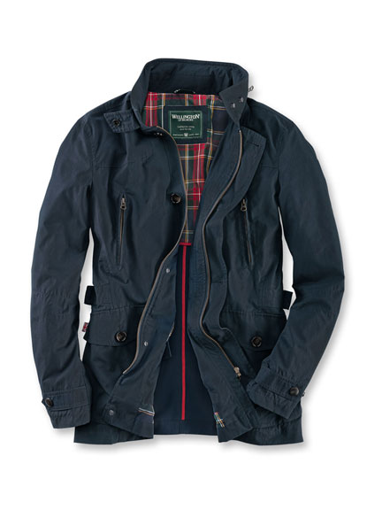 Sportliches 'Fieldjacket' in Navy von Wellington of Bilmore