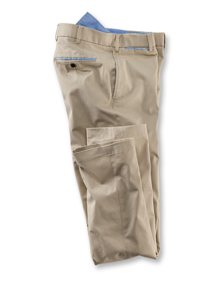 Oxford-Chino aus der 'Hiltl Heritage Collection' in Beige