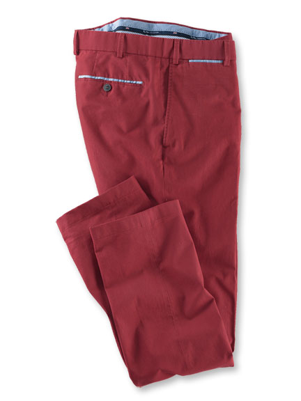 Oxford-Chino aus der 'Hiltl Heritage Collection' in Rot
