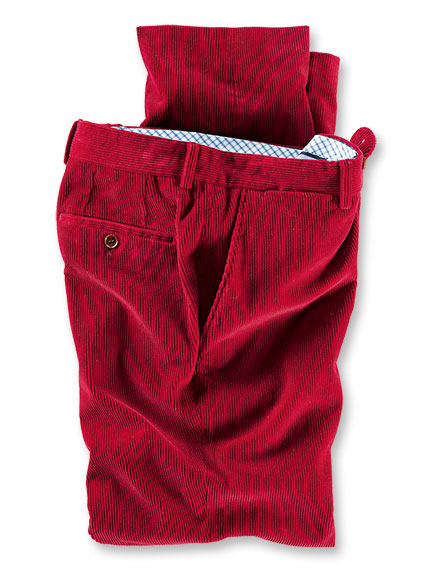 Cordhose in British Red von Charles Robertson
