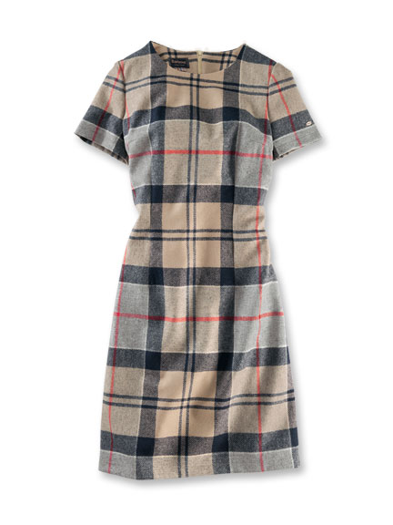 Barbour-Kleid im 'Dress Tartan'