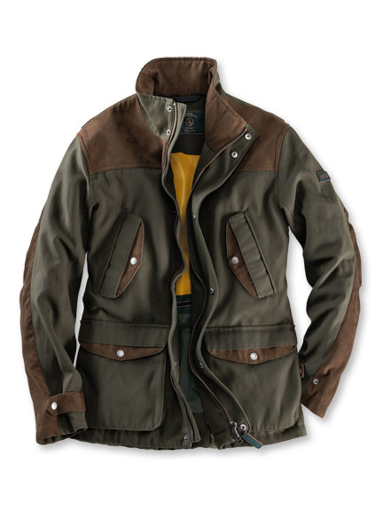 Countryjacke 'Hunting' in Oliv von Aigle
