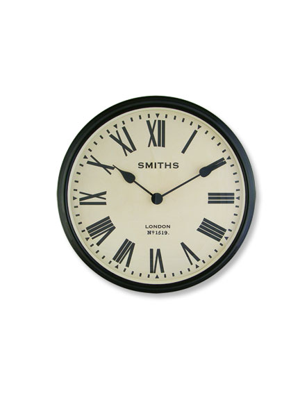 Wanduhr 'Smiths Station Clock'