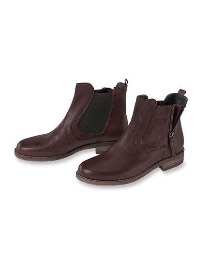 Chelsea-Boots von Kensington in Bordeaux