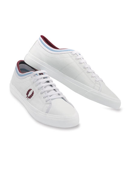 Leder-Sneaker von Fred Perry