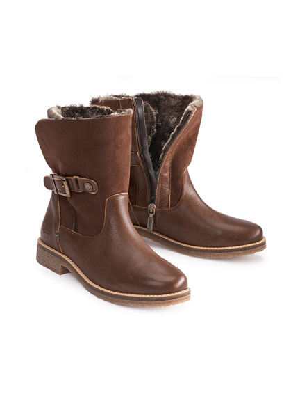 Winter-Boots 'Harriet' in Braun von Barbour