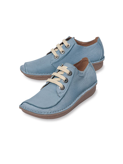 Clarks-Halbschuh 'Funny Dream' in Denim Blue
