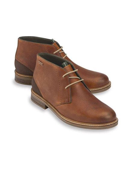 Moderne Barbour-Boots in Braun